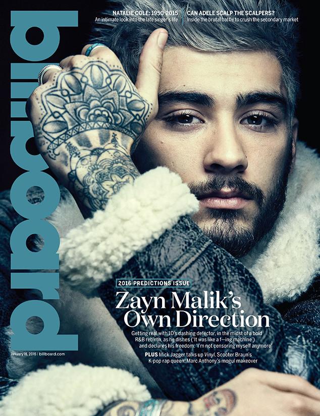 Zayn Malik, Billboard