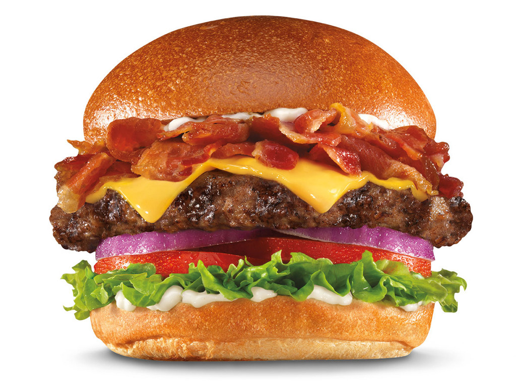 Carls Jr. Pound Super Bacon Thickburger, Fieri or Fast food