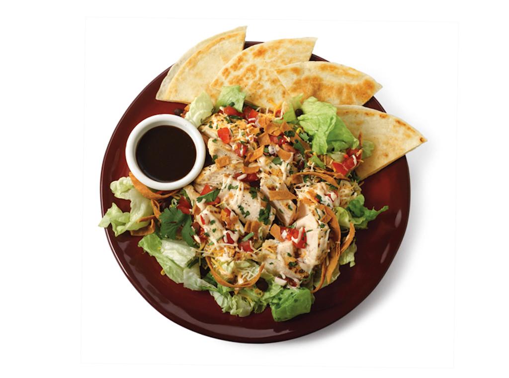Chilis Quesadilla Explosion Salad, Fieri or Fast food