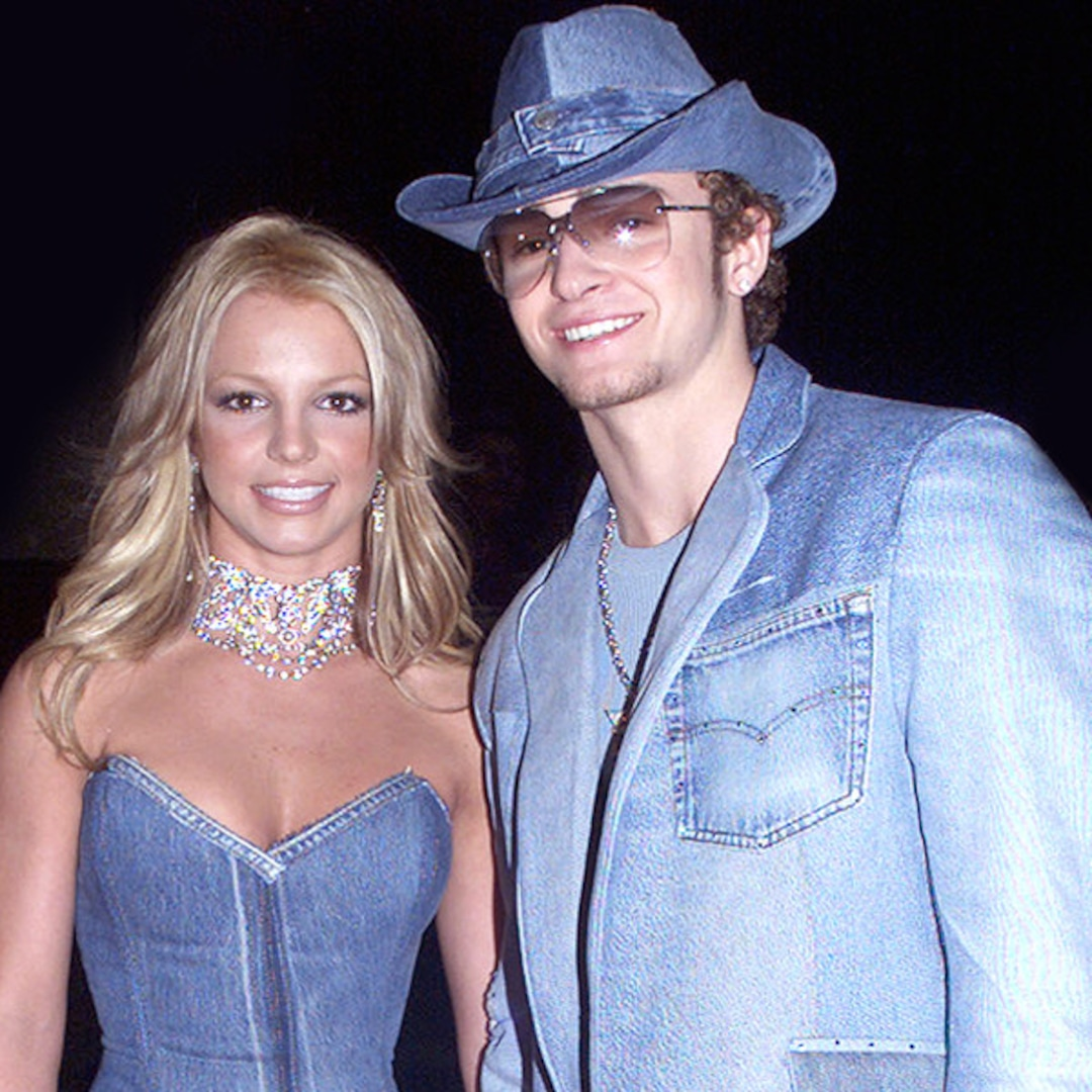 Britney Spears Justin Timberlake Rocked Denim Look 18 Years Ago E Online Ap