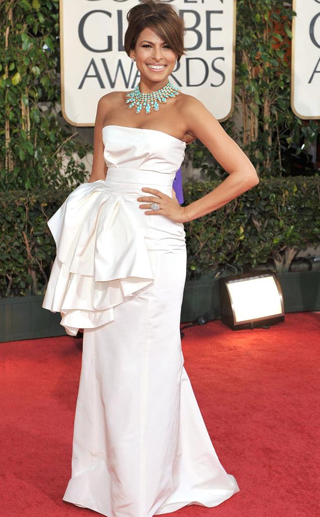 Eva Mendes, Golden Globes, 2009