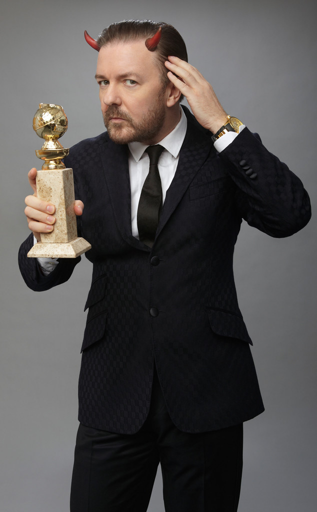 Ricky Gervais, Golden Globes, Memorable Moments, 2012