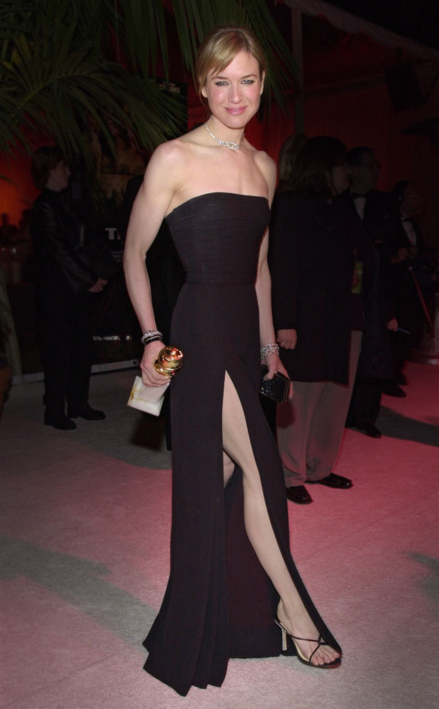 Golden Globes, Memorable Moments, Renee Zellweger, 2001