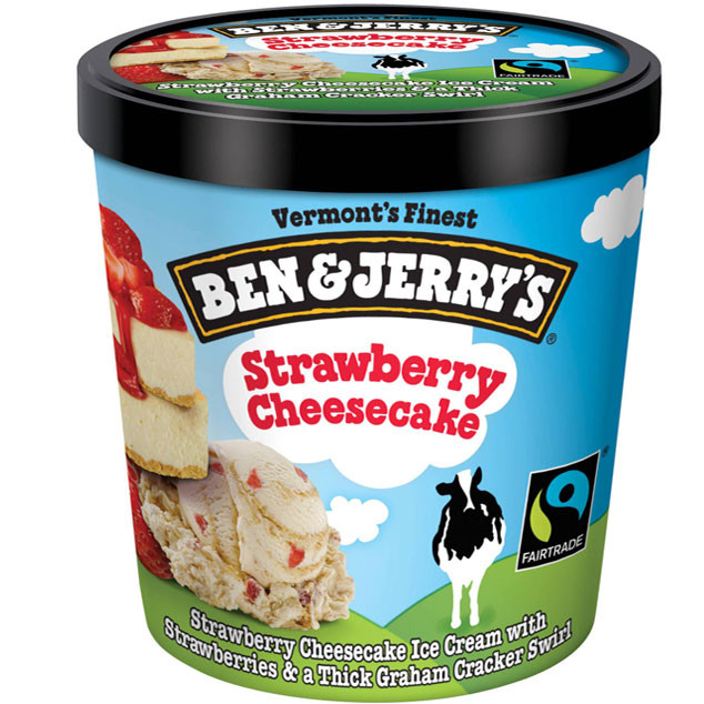 Strawberry Cheesecake, Ben and Jerry's
