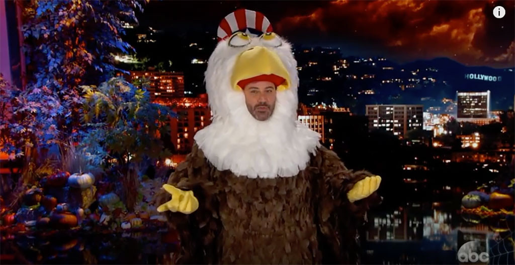 Jimmy Kimmel\'s Halloween Costume Was Inspired by the 2016 ...