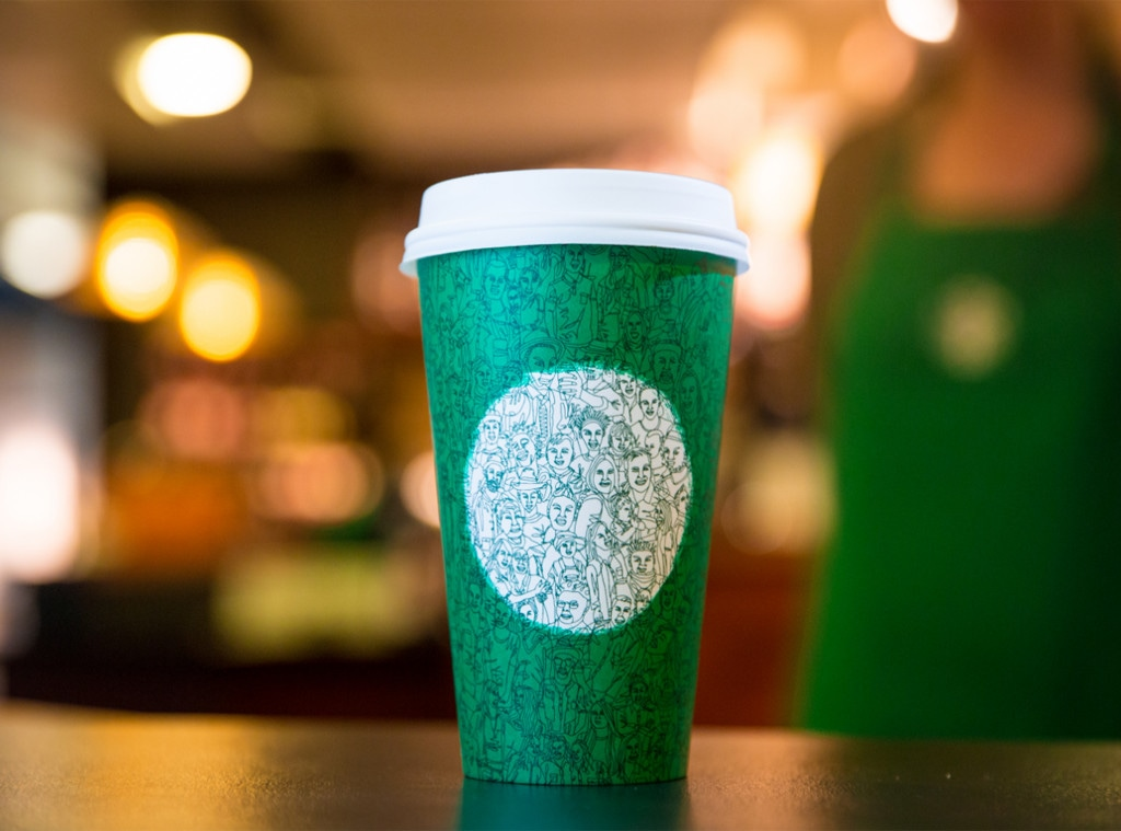 Holiday Green Cups, Starbucks
