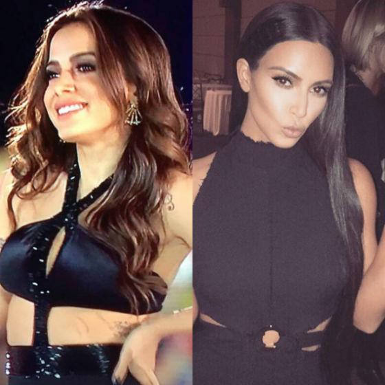 Anitta, Kim Kardashian