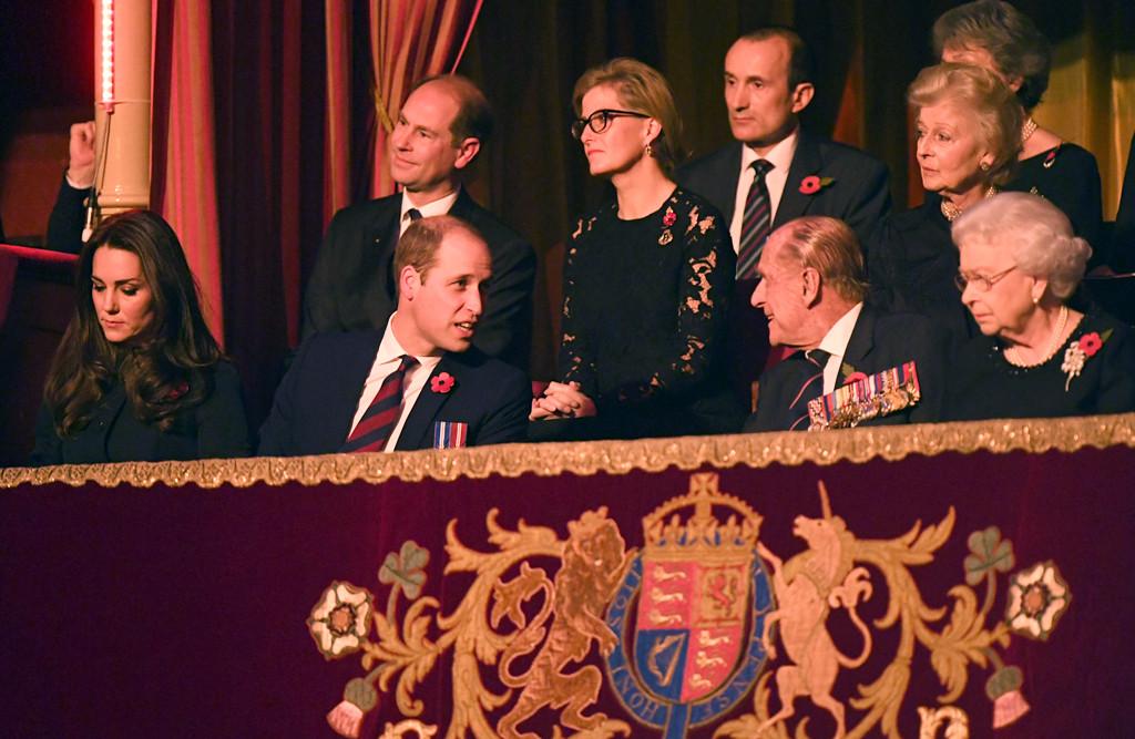 Kate Middleton, Prince William, Royal Festival of Remembrance, Queen Elizabeth II, Duke of Edinburgh