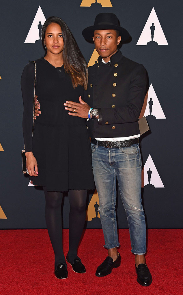 Pharrell Williams, Helen Lasichanh, Governors Awards 2016