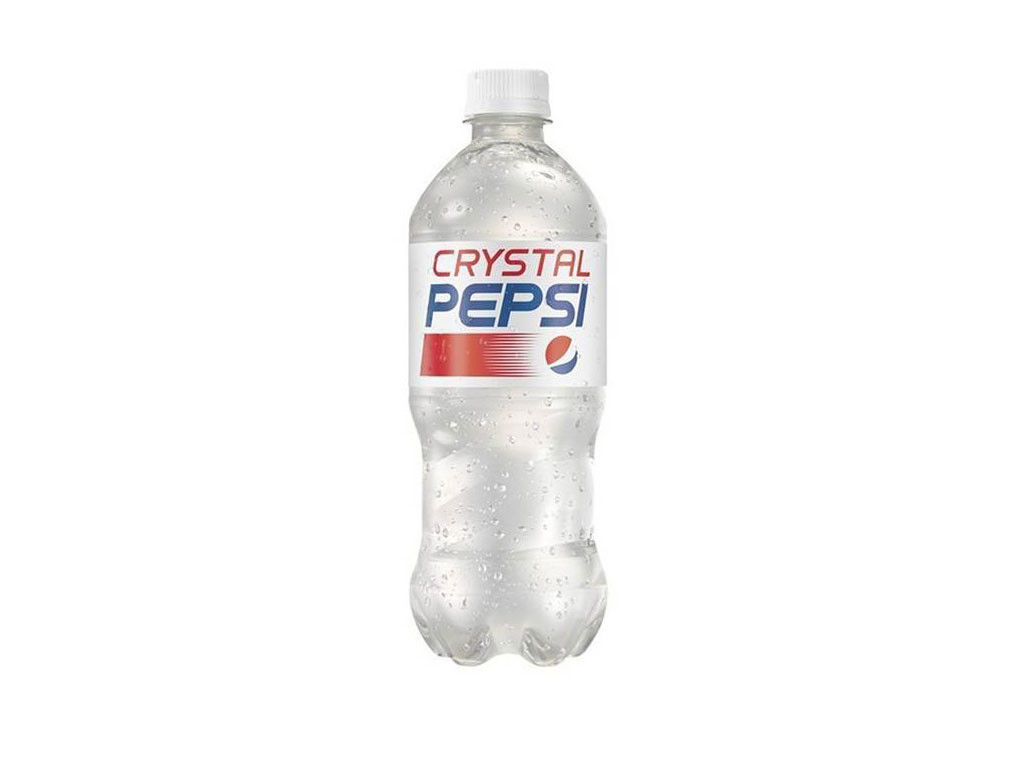 Crystal Pepsi, Discontinued Foods