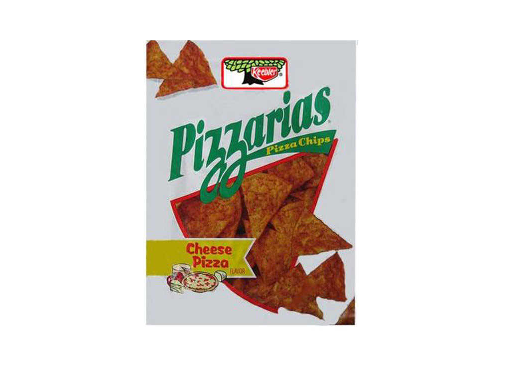 Pizzarias, Discontinued Foods