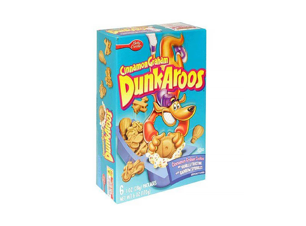 DunkAroos, Discontinued Foods