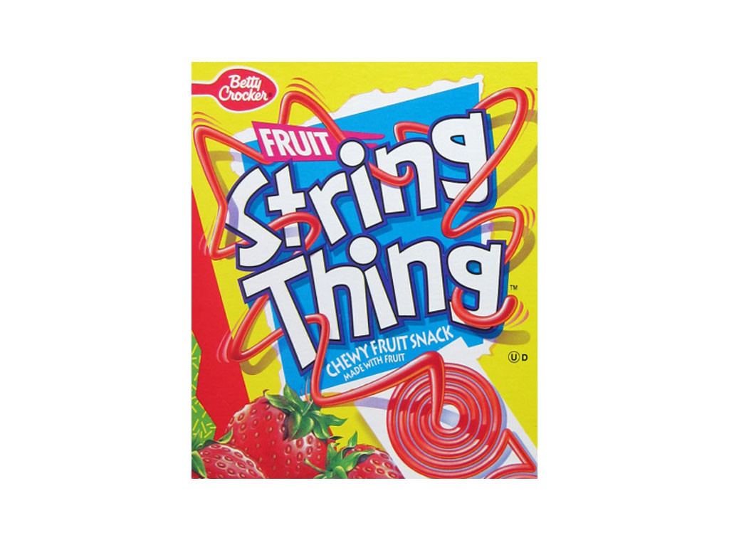 String Thing, Discontinued Foods