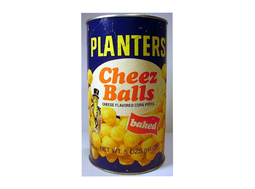 Cheese Balls, Discontinued Foods