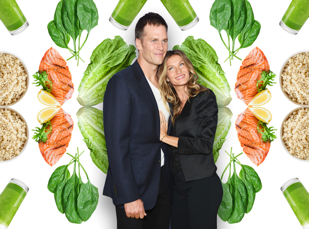 Food Week, Tom Brady, Gisele Bundchen, Diet