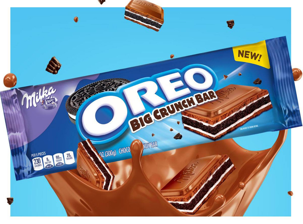 Oreo Just Released A New Candy Bar That Looks Like Edible