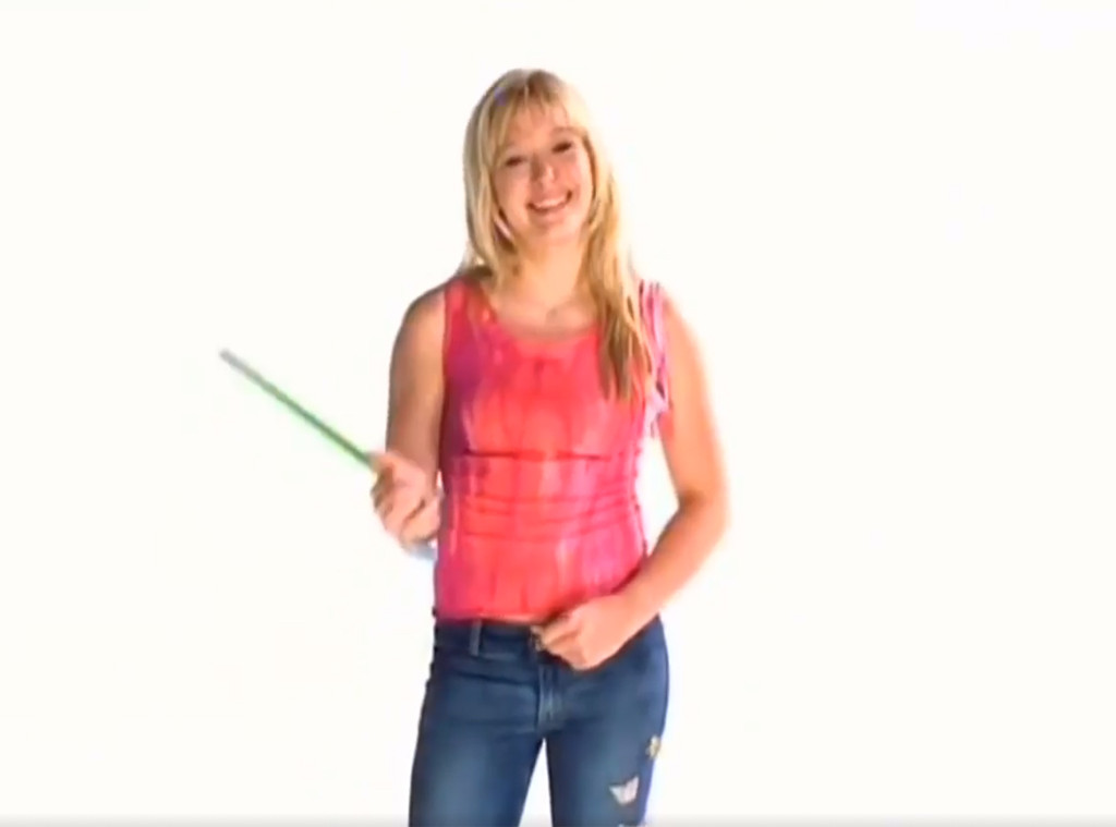 Hilary Duff, Disney Promo Video