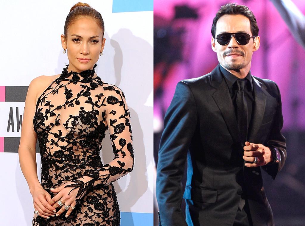 Jennifer Lopez, Marc Anthony, AMA Exes