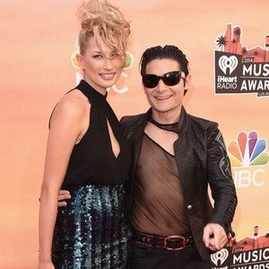 Corey Feldman, Courtney Anne, iHeartRadio Music Awards