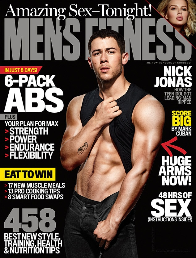 Nick Jonas, Men's Fitness