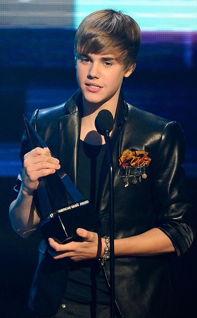 Justin Bieber, 2010 American Music Awards