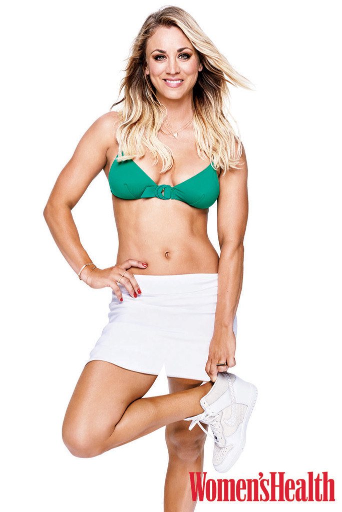 Kaley Cuoco, Women's Health
