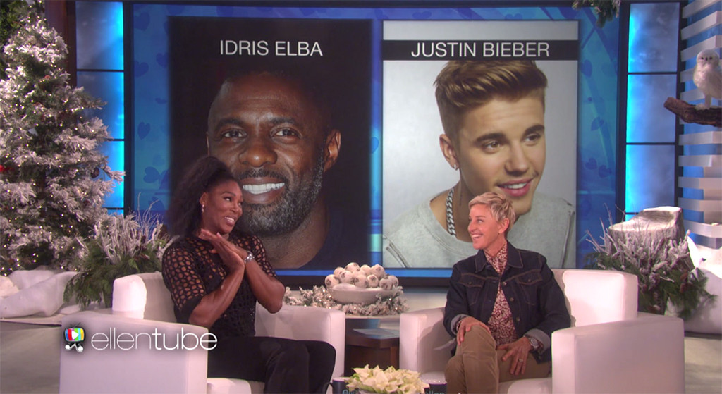 Serena Williams, Ellen DeGeneres