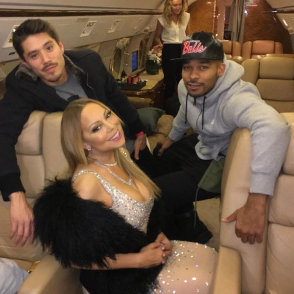 Anthony Burrell, Mariah Carey