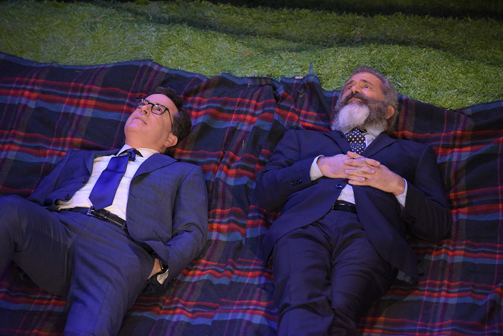 Stephen Colbert, Mel Gibson, The Late Show