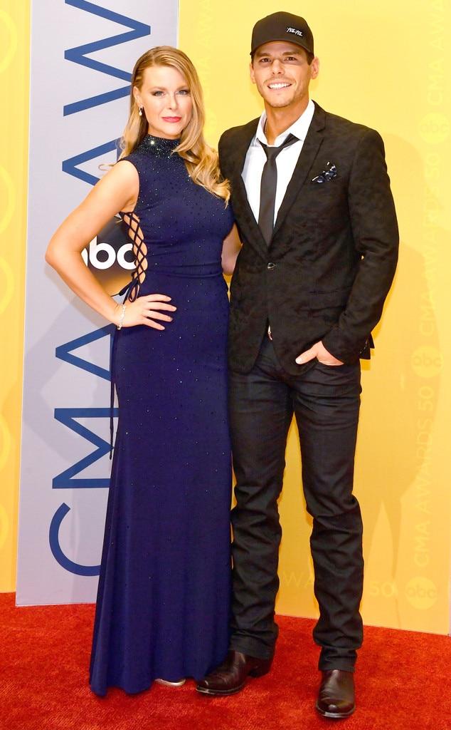 Amber Bartlett, Granger Smith, 2016 CMA Awards, Couples