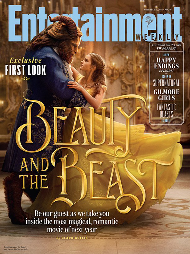 See Emma Watson and Dan Stevens as Belle and Beast in Live