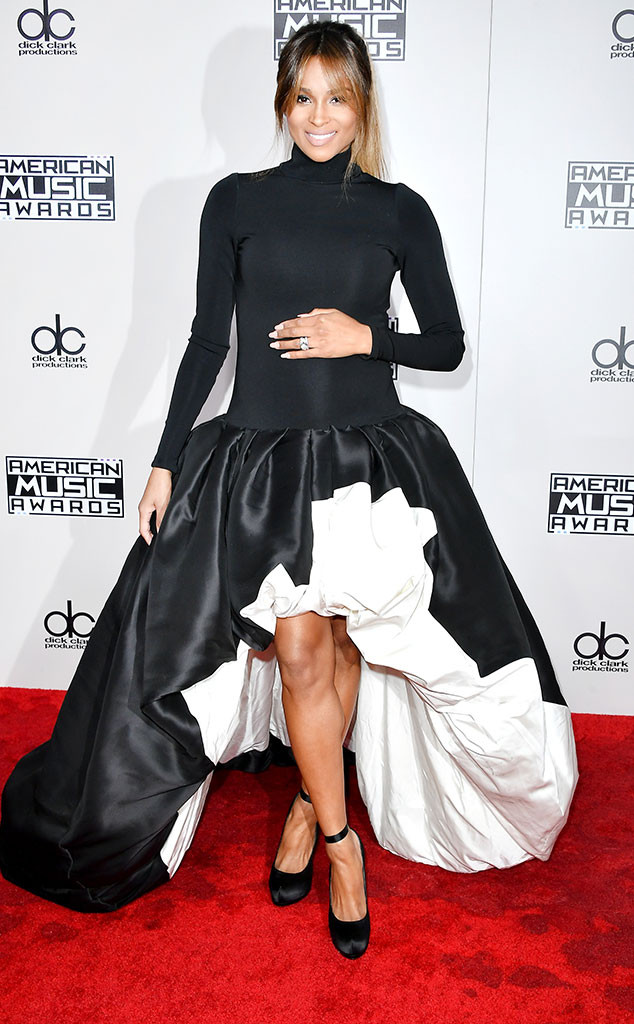 Ciara, AMAs, 2016 American Music Awards, Arrivals