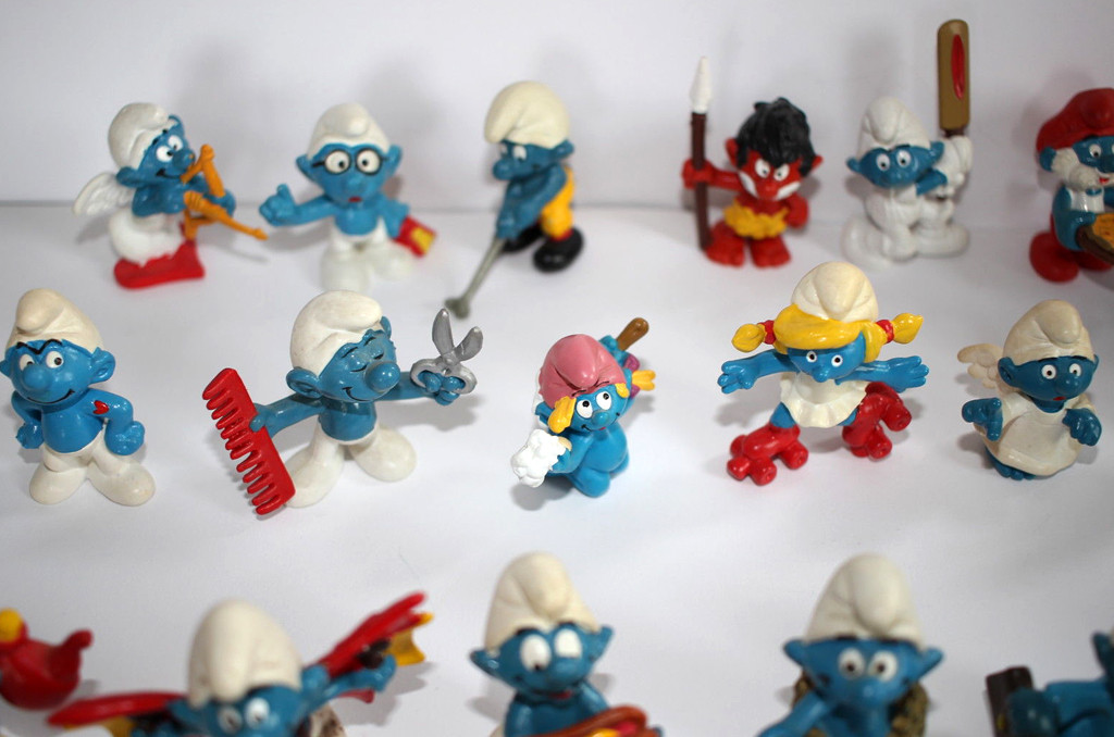 80s Things You Can Still Buy Today, Smurfs Figurines