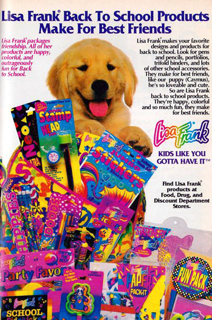 80s Things You Can Still Buy Today, Lisa Frank