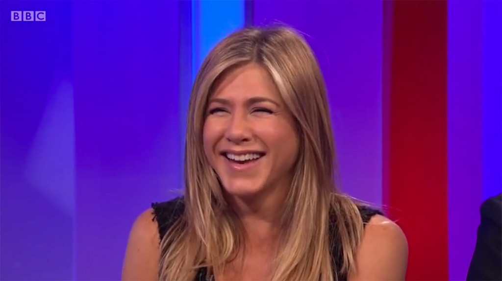Jennifer Aniston, The One Show