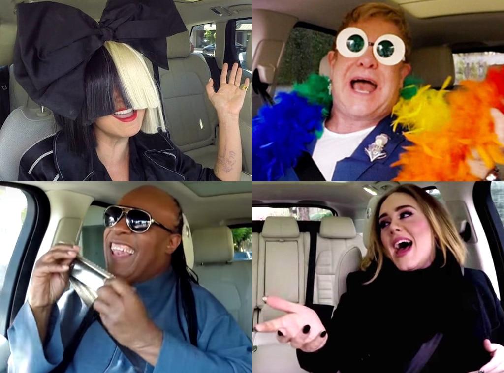 Carpool Karaoke Ranking