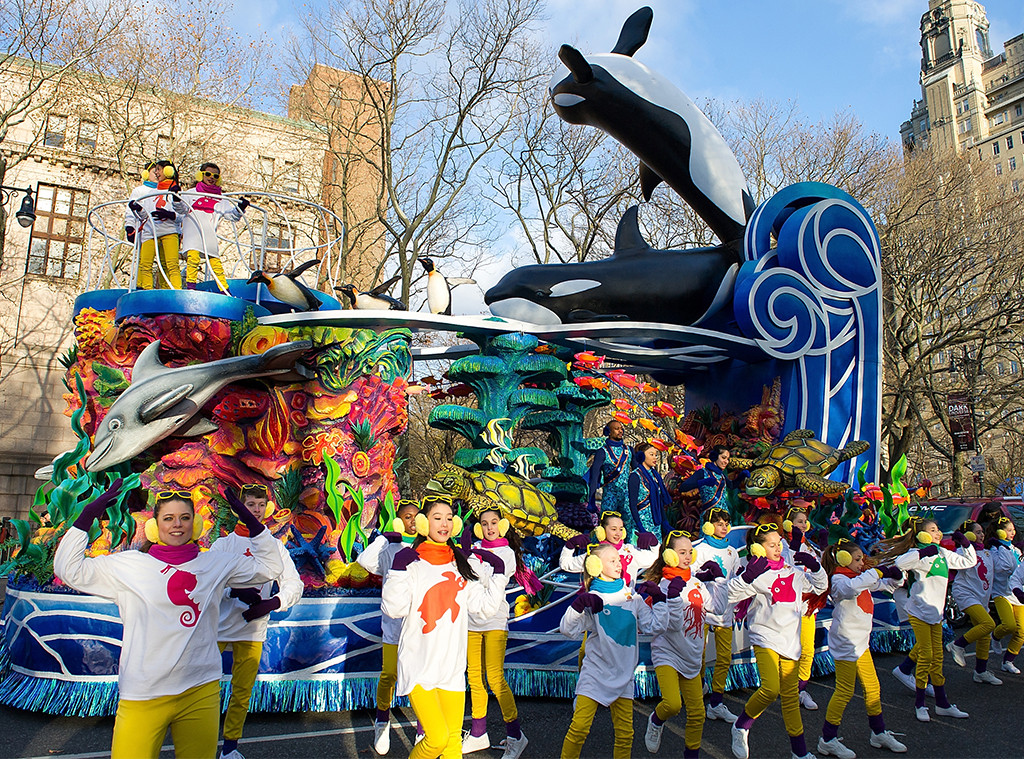 Scariest Macy's Thanksgiving Day Parade Floats, 2013