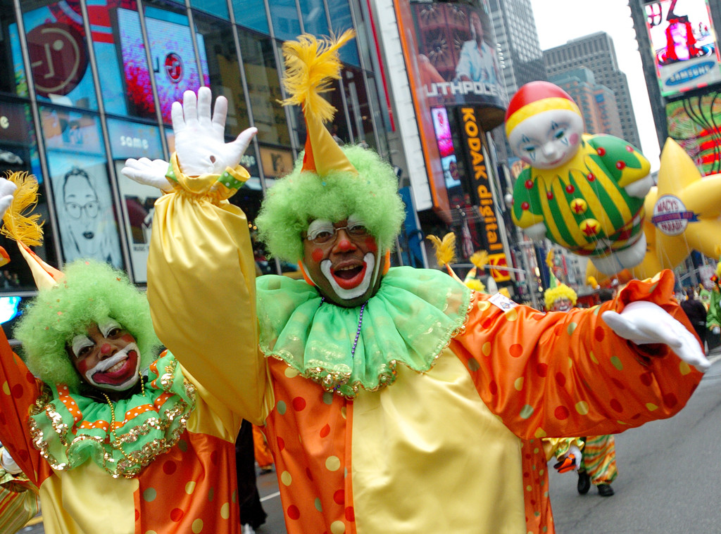 Scariest Macy's Thanksgiving Day Parade Floats, 2005