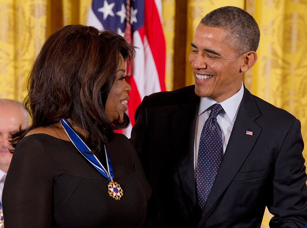 Celebs With Obama, Barack Obama, Oprah Winfrey