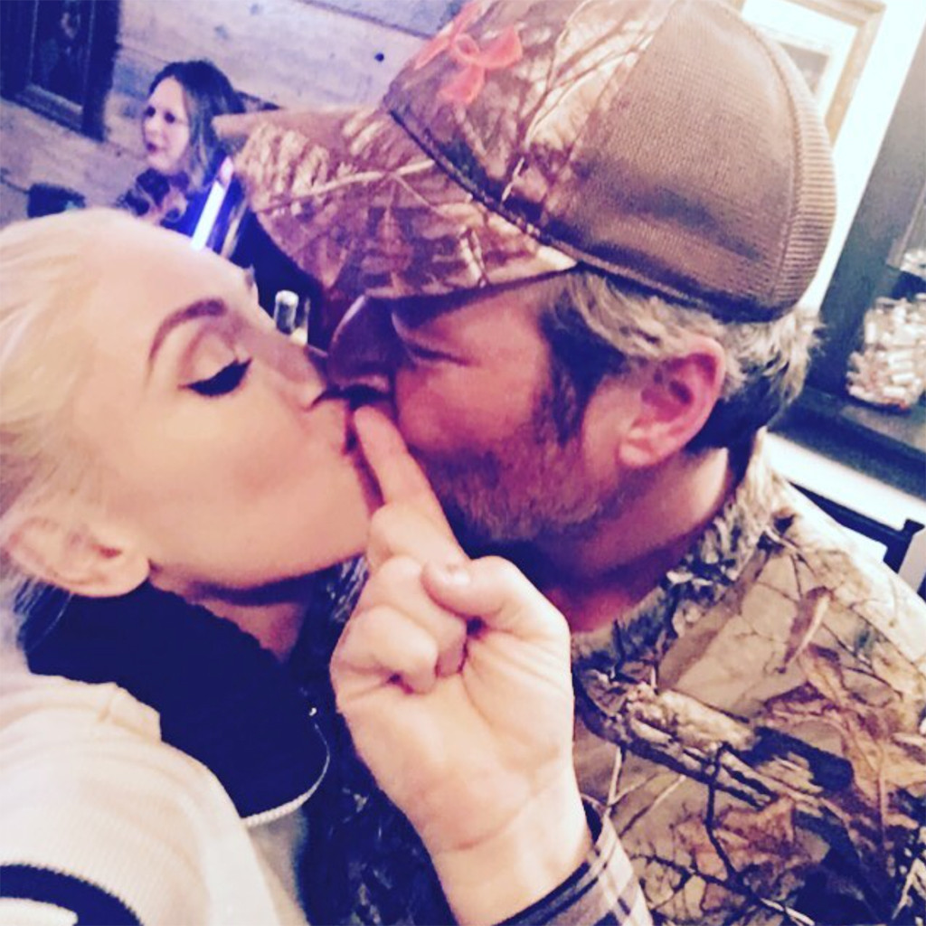 Gwen Stefani, Blake Shelton, Thanksgiving, Instagram