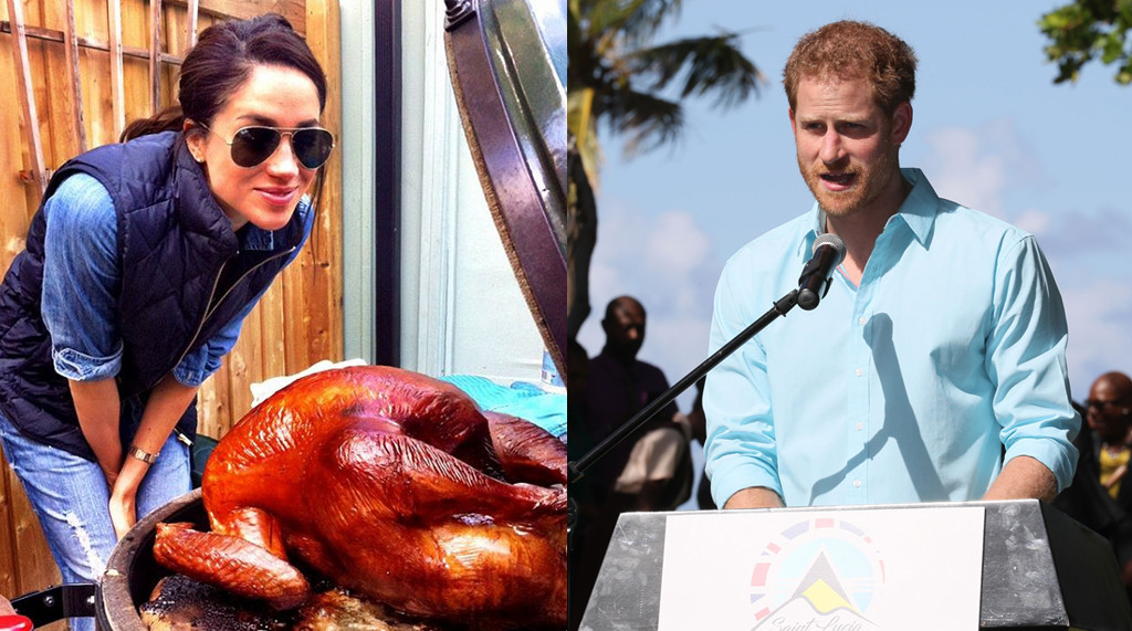 Meghan Markle, Prince Harry, Thanksgiving