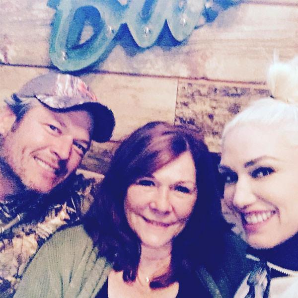 Blake Shelton, Gwen Stefani, Thanksgiving