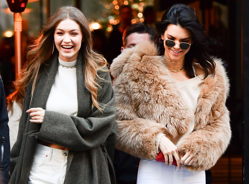 ESC: VS Street Style, Kendall Jenner, Gigi Hadid