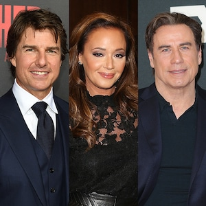 Tom Cruise, Leah Remini, John Travolta