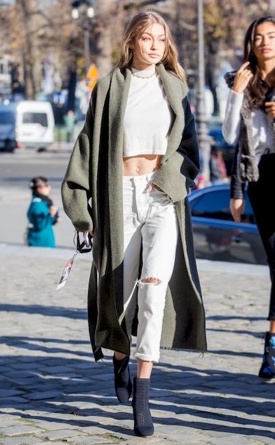 ESC key: VS, Street Style, Gigi Hadid