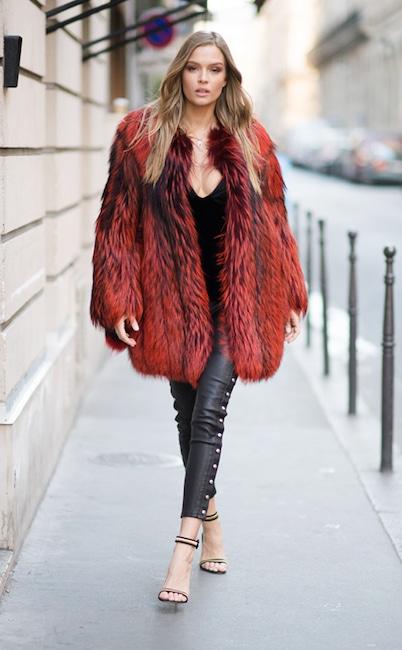 ESC key: VS, Street Style, Josephine Skriver
