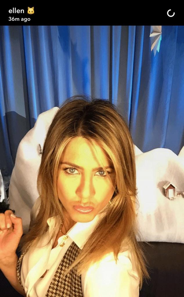 Jennifer Aniston, Snapchat