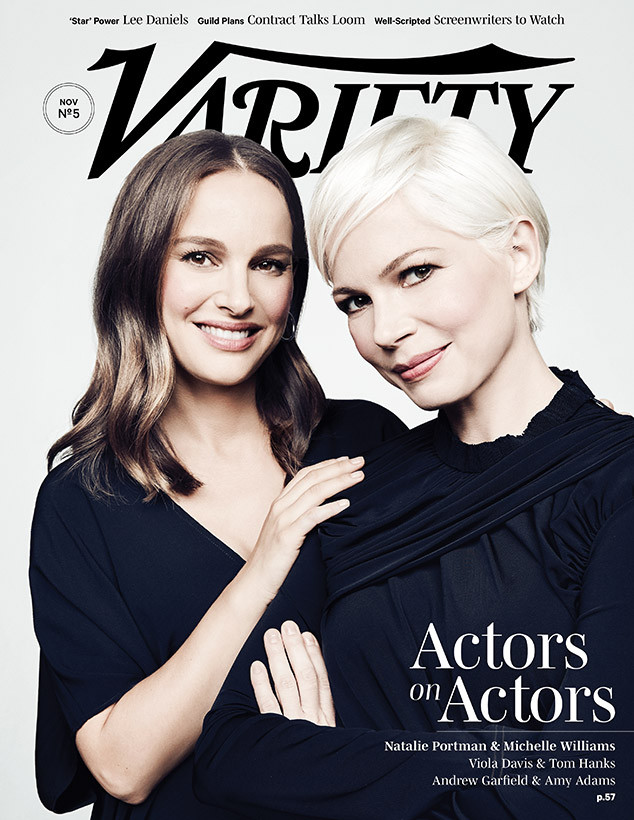 Michelle Williams, Natalie Portman, Variety