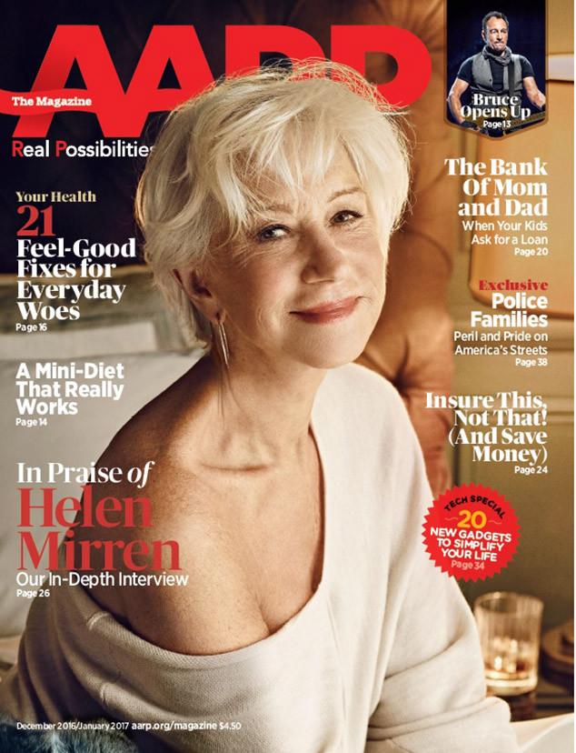 Helen Mirren, AARP The Magazine