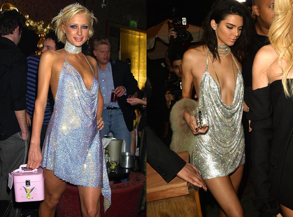 Image result for paris hilton kendall jenner dress
